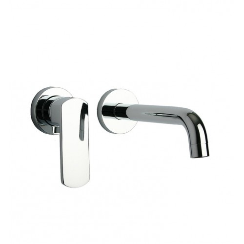 LaToscana 86CR208 Novello Wall Mount Faucet in Chrome
