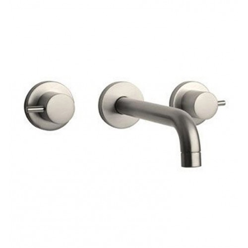 LaToscana 78PW207 Elba Wall Mount Lavatory Faucet in Brushed Nickel
