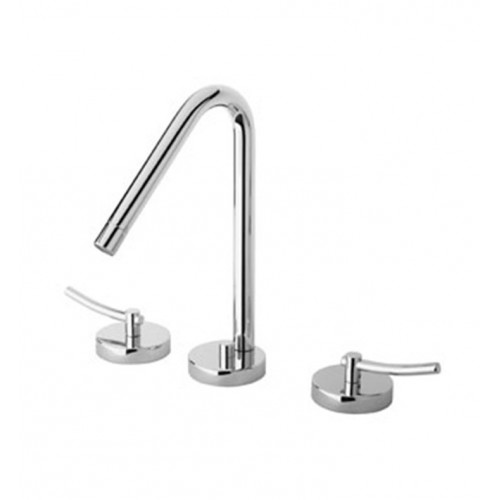LaToscana 81CR214 Morrelino Widespread Lavatory Faucet With Lever Handles in Chrome