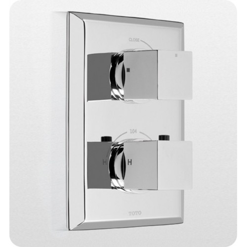 TOTO TS930C Lloyd® Thermostatic Mixing Valve Trim with Single Volume Control