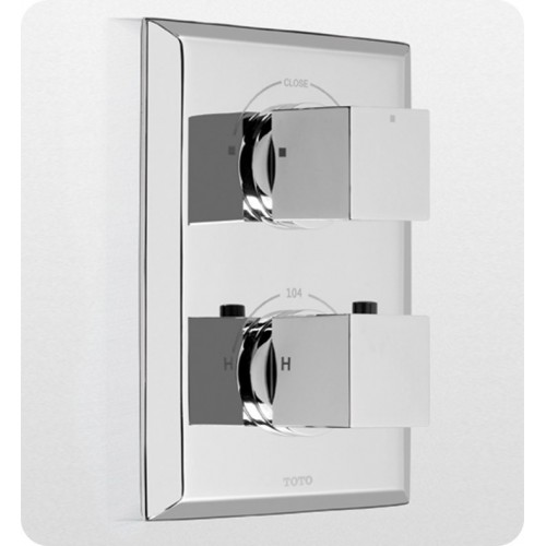 TOTO TS930D Lloyd® Thermostatic Mixing Valve Trim with Dual Volume Control