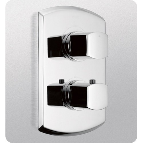 TOTO TS960C Soirée® Thermostatic Mixing Valve Trim with Single Volume Control