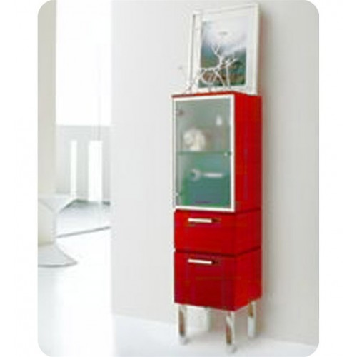 LaToscana 7003-139 Asia 85 Collection Red Low Linen Tower