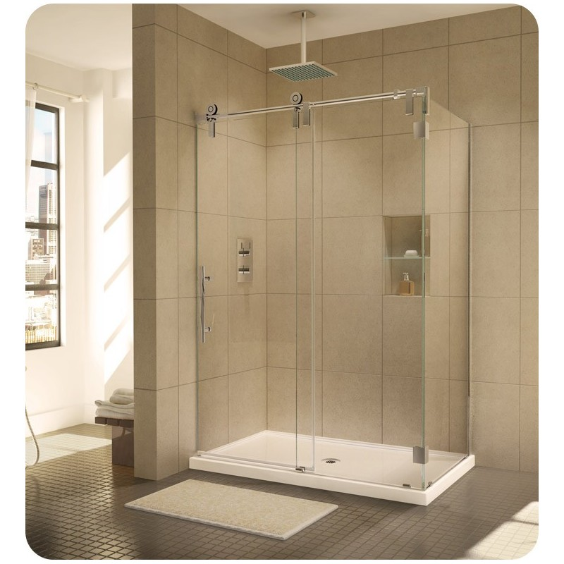 Fleurco KSWR Kinetik In Line Door and Panel with Return Panel (Two Sided)