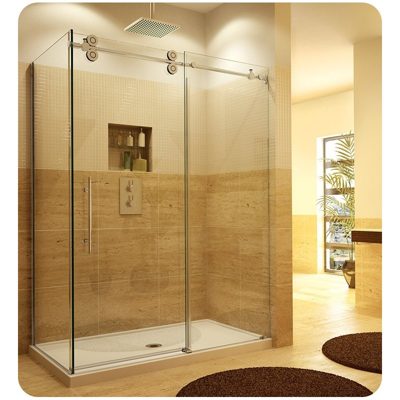 Fleurco KTPR Kinetik in Line Door and Panel with Return Panel (Two Sided)