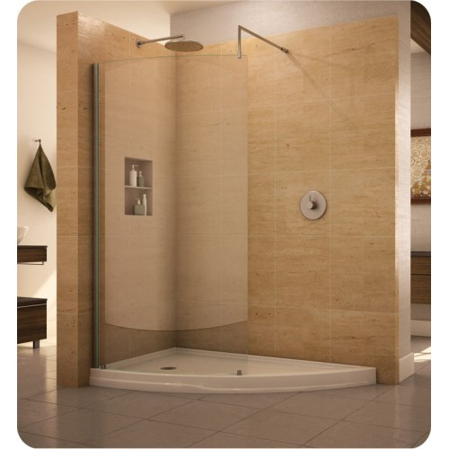 Fleurco V6636 Evolution Eclipse Curved Glass Shower Shield